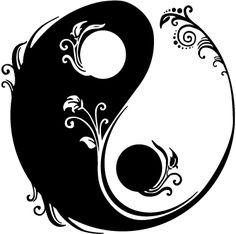 illustration for tattoo yin yang Arte Yin Yang, Yin Yang Art, Yin Yang Tattoos, Couple Tattoos, Girl Tattoos, Tatoos, Mandala Drawing, Mandala Painting, Symbole Ying Yang