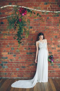 Photography: Alison Mayfield Photography Studio - alisonmayfield.com  Read More: http://www.stylemepretty.com/australia-weddings/2014/08/26/urban-bohemian-wedding-inspiration/