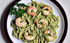 Gamba's Spinazie en Pesto Pasta, een heerlijk pasta recept in een handomdraai te bereiden. Snel, gezond en super lekker! Wat wil je nog meer?