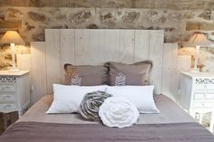 1000 images about d co campagne chic on pinterest casual elegance beams and tables - Chambre style campagne chic ...
