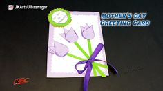 DIY  Mother's Day Greeting Card | How to make | Mother's Day Gift Idea | JK Arts 929