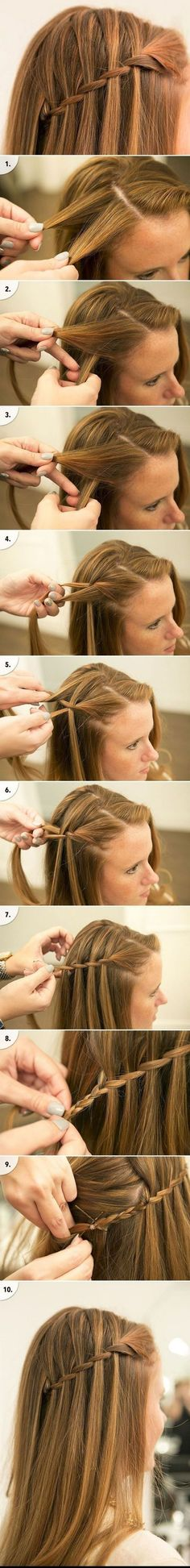 Fast Easy Formal Party Hairstyles for Long Hair DIY Ideas 2018 . - Fast simple formal party hairstyles for long hair DIY ideas 2018 # formal - Party Hairstyles For Long Hair, Hairstyles For School, Trendy Hairstyles, Wedding Hairstyles, Beautiful Hairstyles, School Hairdos, Long Haircuts, Everyday Hairstyles, School Braids