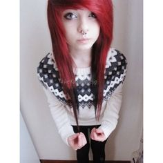 We've gathered our favorite ideas for Red Scene Hair Scene Hairstyles Emo Hair Red Scene, Explore our list of popular images of Red Scene Hair Scene Hairstyles Emo Hair Red Scene in emo girl with orange hair. My Hairstyle, Pretty Hairstyles, Girl Hairstyles, Scene Hairstyles, Red Scene Hair, Indie Scene Hair, Emo Scene, Scene Hair Bangs, Sisterlocks