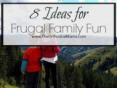 Summer is just around the corner!  Check out these ideas for frugal family fun.