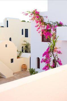 "Vedema Resort Santorini - Peony Lim ""Take me on a trip I'd like to go somewhere.."" <3 _ <3"