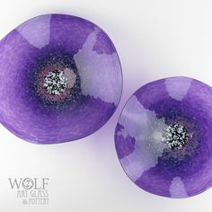 MADE TO ORDER Blown Glass Wall Art Amethyst Purple Poppy Flower Wall... ($175) ❤ liked on Polyvore featuring home, home decor, wall art, poppy home decor, purple home decor, purple wall art, purple home accessories and glass home decor