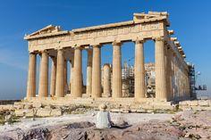 Arquitetura como filme: o caso da Acrópole de Atenas, Ruínas do Parthenon da Acrópole de Atenas, Grécia. © Kristoffer Trolle via VisualHunt.com /  CC BY