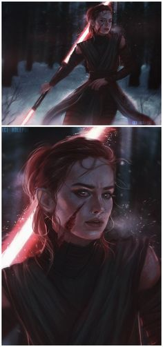 The Knight of Rey - Star Wars Siths - Ideas of Star Wars Siths - The Knight of Rey Star Wars Fan Art, Finn Star Wars, Reylo, Kylo Ren And Rey, Kylo Rey, Rey Cosplay, Star Wars Sith, Star Wars Facts, Star Wars Outfits
