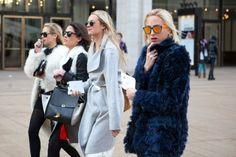 girls fashion street style glasses fashionable stylish fur coat fashion photography street wear street fashion womenswear sun glasses cool girls