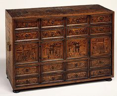 Cabinet, early 17th Century, Southern German, Augsburg