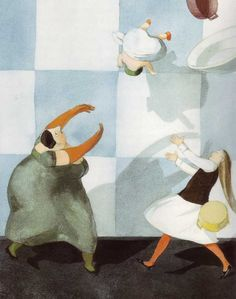 Alice in Wonderland illustrated by Lisbeth Zwerger