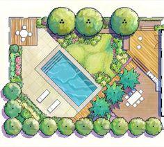 Pin by Yaderi Lopez on Architecture Landscape Design Plans, Landscape Sketch, Garden Design Plans, Landscape Drawings, Interior Architecture Drawing, Architecture Concept Drawings, Landscape Architecture Design, Drawing Interior, Plan Drawing
