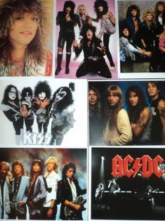 80's rock posters Rock And Roll Bands, Rock N Roll, Eighties Party, Party Rock, 80s Rock, Love Rocks, Sing To Me, Rock Posters, Hair Bands