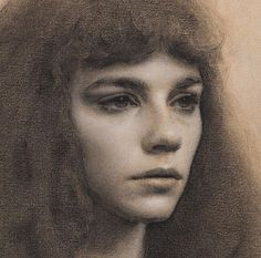 Pencil Portrait Florence Academy of Art - Portrait Sketches, Pencil Portrait, Portrait Art, Art Sketches, Charcoal Portraits, Charcoal Art, Volume Art, Florence Academy Of Art, Graphite Art