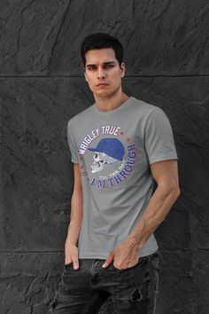 Chicago Pro Baseball Apparel | Shop Unlicensed Chicago Gear | Wrigley – Smack Apparel Chicago Cubs Shirts, Chicago Cubs Fans, Pro Baseball, Game Day Shirts, Championship Game, Clothing Company, Shirt Style, Shirt Designs