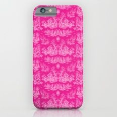 Chevron Toile, Pink Slim Case iPhone 6s