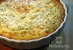 Junk Food, Zucchini Quiche, Vegetarian Recepies, Hungarian Recipes, Dinner Options, Mashed Potatoes, Macaroni And Cheese, Pizza, Yummy Food