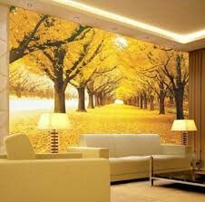 Marvelous Wall Mural Wallpaper,Golden Grove Large Murals For Living Room Bedding  Room,papel De Pa Part 22