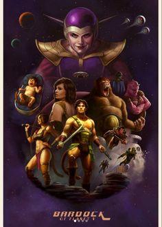 If Dragonball Z was a sci-fi pulp magazine: Bardock! Dragon Ball Z, Realistic Dragon, Fanarts Anime, Cool Artwork, Amazing Artwork, Dbz, Les Oeuvres, Fantasy Art, Anime Art