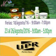 Mañana nos vemos si Dios permite en UPR de Arecibo desde las 9am. Los esperamos.