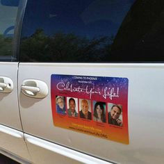 More #inspiration and #happiness driving around in #Phoenix. Can you spot them? #CYLPhoenix