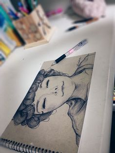 Self-Portrait(Black) by Banul