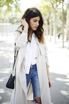 Trench Coat for winter style