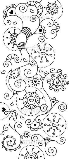 Descargar - Doodle lindo fondo — Imagen de stock #1790834