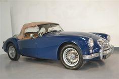 MG MGA 1958 Blue (Oselli)