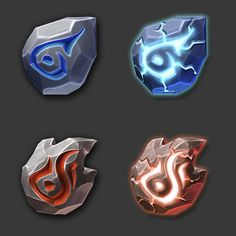 Art for game. Weapon Concept Art, Game Concept Art, Magia Elemental, Crystal Drawing, Vikings Game, Game Ui Design, Mobile Art, Game Background, Game Icon