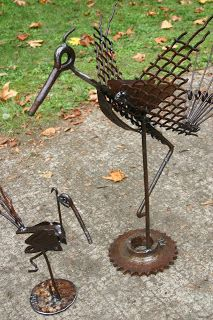 Kathi's Garden Art Rust-n-Stuff: Holiday Shows - On Display now at the Memorial Union Concourse Gallery