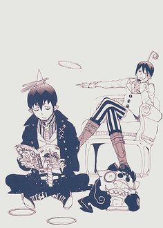 Demon Brothers - Ao no Exorcist - Mobile Wallpaper - Zerochan Anime Image Board Ao No Exorcist, Blue Exorcist Mephisto, Blue Exorcist Anime, Blue Exorcist Funny, Manga Anime, Manga Art, Anime Art, Rin Okumura, Anime Pictures