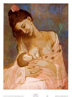 Amamentação, Picasso