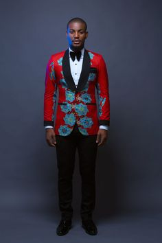 "Alexx Ekubo, Beverly Osu, Ik Ogbonna & More Rock Bold Prints & Colours in Jason Porshe's ""Bella Vista"" Collection African Fashion Designers, African Print Fashion, Africa Fashion, African Prints, African Attire, African Wear, African Style, African Women, Suit Fashion"