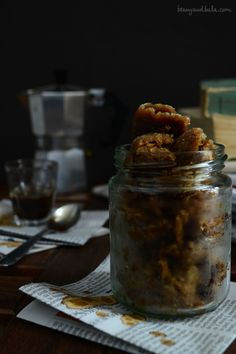 Italian Moka Coffee Granita (without ice cream maker) / Granita al Caffè (senza gelatiera)