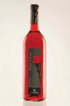 "Organic rosé ""Rosat de Rosa"" by the  Mesquida family in Porreres, Mallorca."