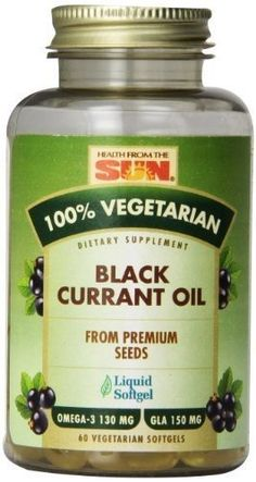 Health From the Sun Black Currant Oil -- 60 Vegetarian Softgels Black Currant Oil, Black Currants, Nutritional Supplements, Omega 3, Organic Recipes, Healthy Life, Vitamins, Health And Beauty, The 100