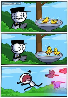 Hilarious Comics By Loading Artist That Will Make Your Day Need something to get through this long Monday at work? These illustrations by Loading Artist are just perfect for you! 9gag Funny, Stupid Funny Memes, Hilarious, Funniest Jokes, Beste Comics, Funny Comic Strips, Really Funny Memes, Funny Stuff, Fun Comics