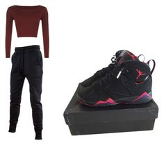 """"""""""" by peacegold7 on Polyvore featuring WearAll and NIKE"""