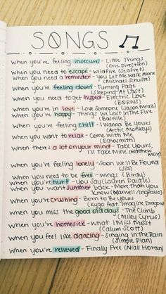 Ultimate List of Bullet Journal Ideas: 101 Inspiring Concepts to Try Today (Part. - Ultimate List of Bullet Journal Ideas: 101 Inspiring Concepts to Try Today (Part – Simple Life - Music Mood, Mood Songs, Pop Music, Music Quotes, Music Songs, Dance Music, When Youre In Love, Song Suggestions, Bulletins
