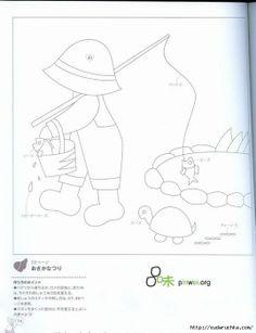 "Gallery.ru / Фото #12 - ""Sunbonnet Sue - Patcnwork"". Японская книга по пэчворку. - Vladikana"