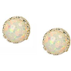 love these opal earrings... and it's my birthstone!