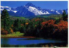Mt. Sneffels, Colorado, USA #cntpostcard