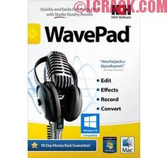 WavePad Sound Editor 7.03 Crack Registration Code
