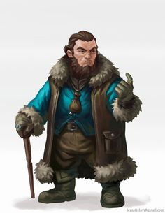 Dwarf Merchant by ArtDeepMind on DeviantArt Dungeons And Dragons Characters, D&d Dungeons And Dragons, Dnd Characters, Fantasy Characters, Fantasy Dwarf, Fantasy Rpg, Medieval Fantasy, Fantasy Heroes, Fantasy Races