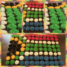South African Flag cupcakes 96 of them! South African Flag, Cupcake Cakes, Cupcakes, Flag Cake, Cake Ideas, Competition, Kids Rugs, Baking, Outdoor Decor