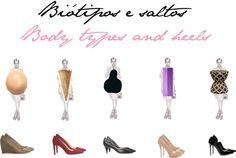 Biótipos e saltos - Body Types and heels