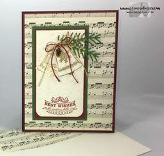 Stamps-N-Lingers.  Seasonal Bells, Pretty Pines Thinlits, This Christmas DSP, Holly TIEF. https://stampsnlingers.com/2016/09/05/stampin-up-seasonal-bells-christmas-wedding/