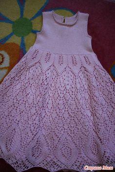Girls Knitted Dress, Knit Dress, Kids Fashion, Summer Dresses, Baby Dresses, Knitting, Chic, Children, Crochet
