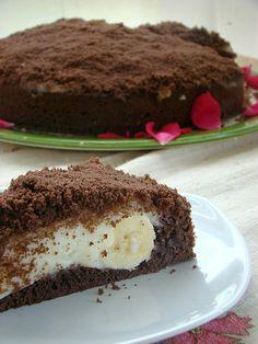 Muzlu köstebek pasta bol muhallebili , muzlu güzel mi güzel bir pasta..:) Muzlu köstebek pasta için gerekli malzemeler 4 adet yumurta 1 su bardağı süt 1 su bardağı şeker 4 yemek kaşığı kakao 1 yemek kaşığı hindistan cevizi 5 adet muz 1 paket kabartma tozu 1 paket vanilya 1 su bardağı sıvıyağ Yaklaşık 3 su …